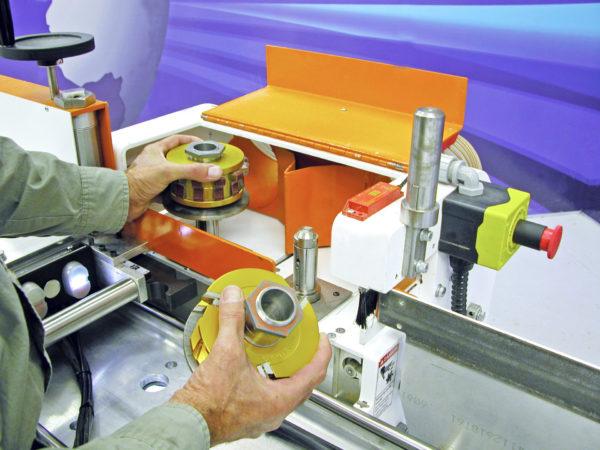QC Loading Tooling Heads - Voorwood Table Shaper Sander