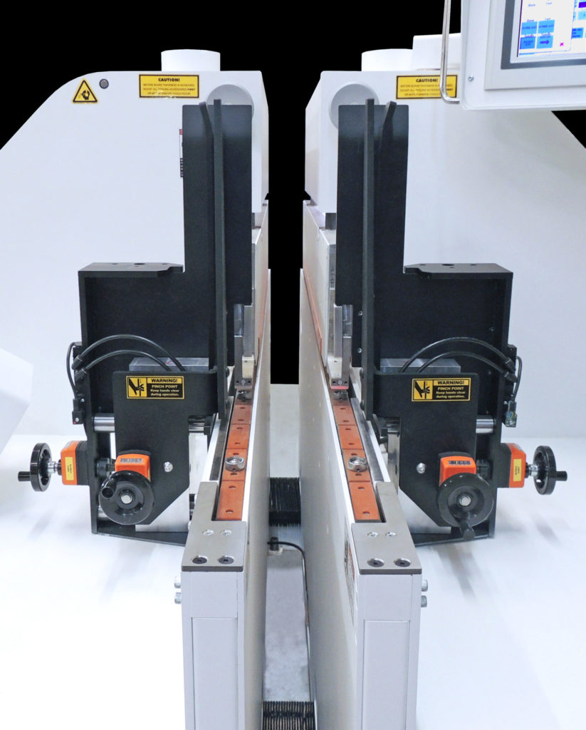 Double-Side Cope Shaper Hopper Feed - Voorwood A2515