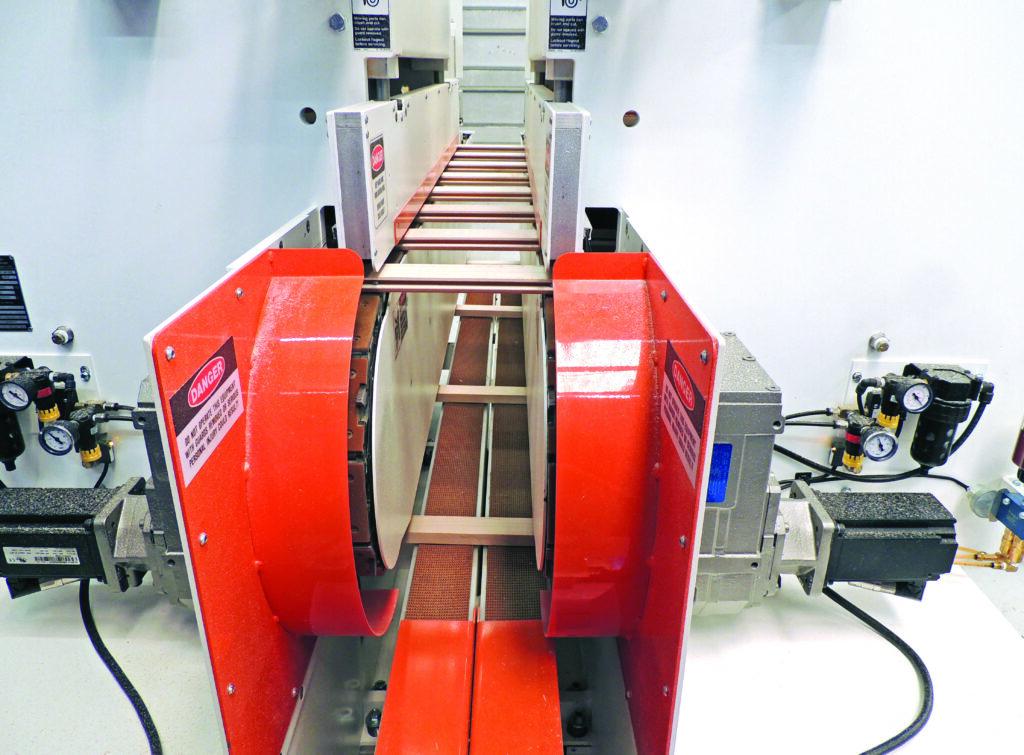Return Conveyor on Double-Side Cope Shaper - A2515