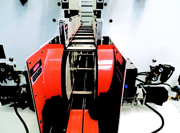 Return Conveyor on Double-Side Cope Shaper - A2515