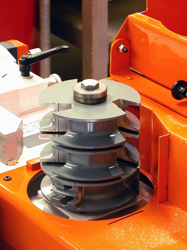 Cope Shaper Cutter Stall - Voorwood A26