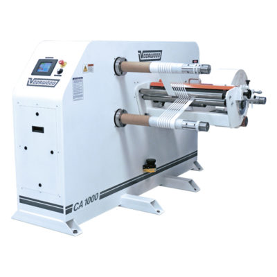 Slitter Rewinder For Woodworking