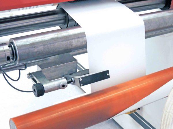 Slitter Rewinder For Woodworking