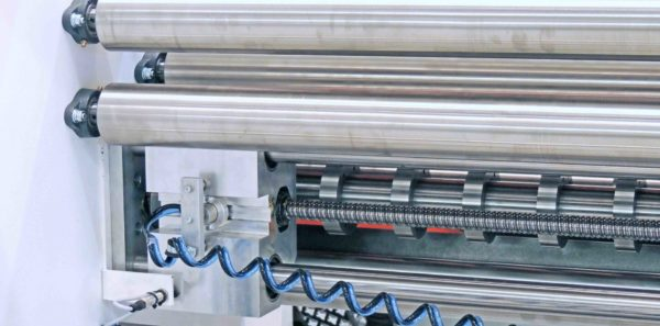 CR Series Slitter Rewinder Servo Knife Position