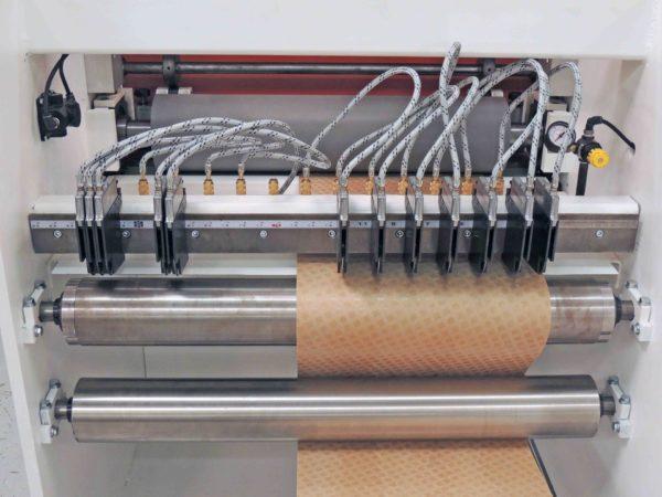 Voorwood Converter Sheeter Slitting Area - CS610