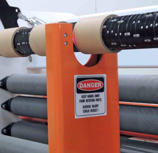 Voorwood Slitter Rewinder Laser Offloader - CX1500/CX1800
