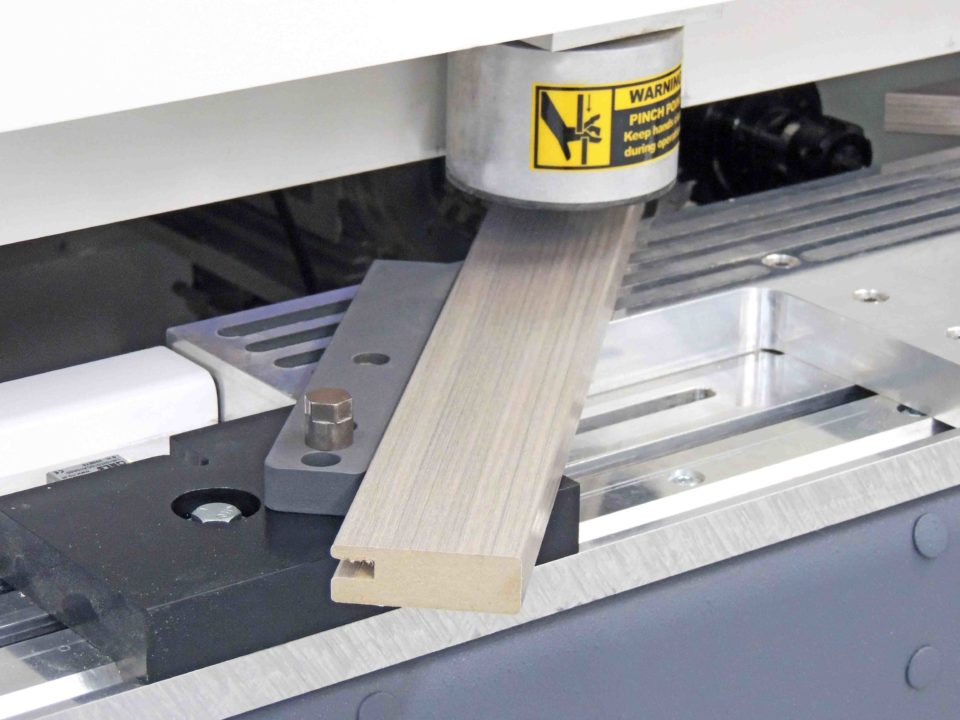 Miter Machine Clamp with Board