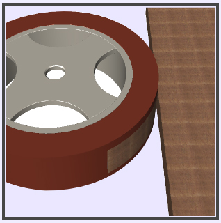 Foil Wheels & Rollers