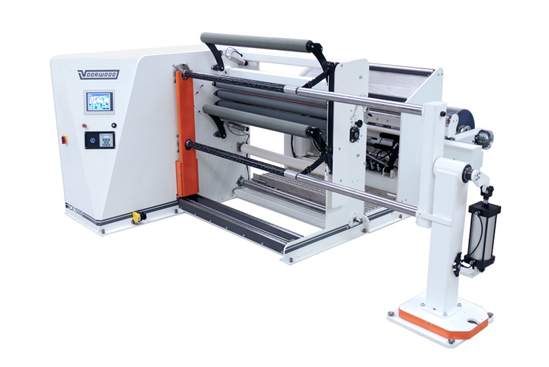 CX1500 converting machine, with offloader