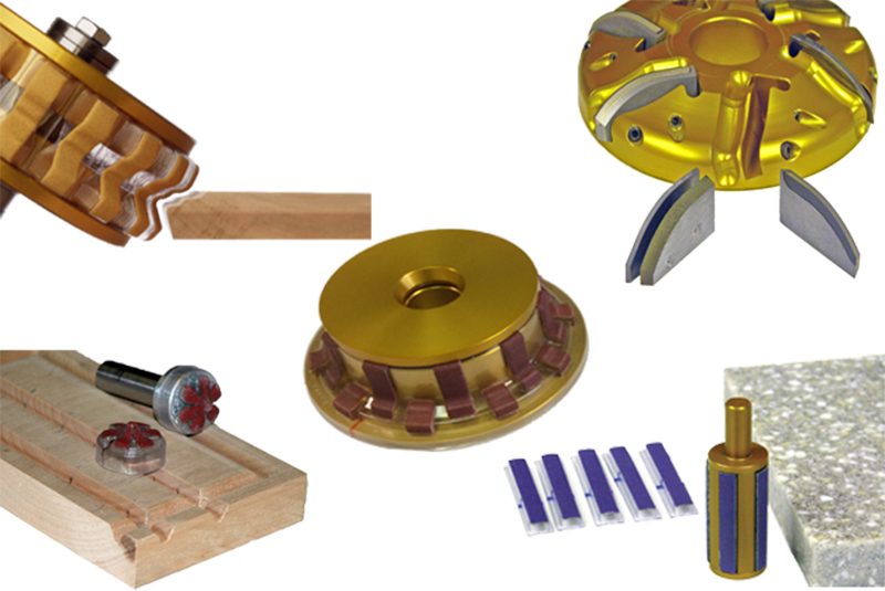 Various tooling pieces