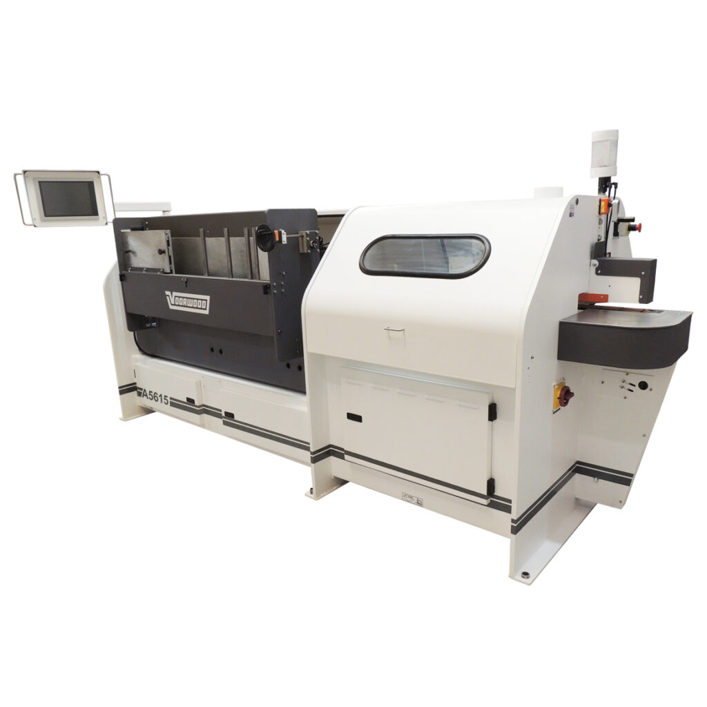 Voorwood's A5615 Automatic Double-Side Cope & Stick Shaper